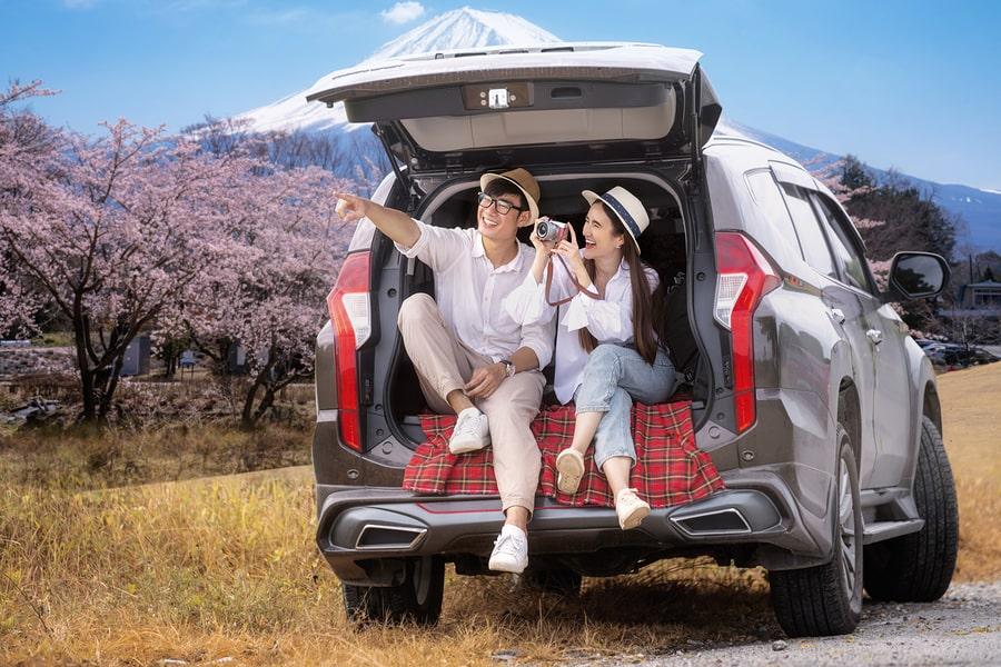 car rental overseas road trip
